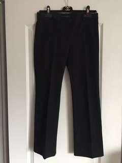 Theory crop pants size 6