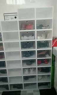 折疊波鞋盒 30個 鞋櫃 shoes cabinet