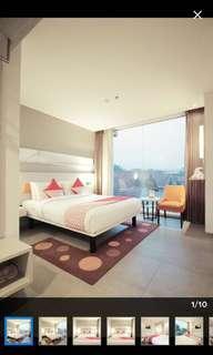 Hotel topas galeria bandung (deluxe room)