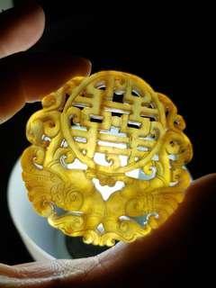 🚚 XiuYu Jade Stone Double Fish
