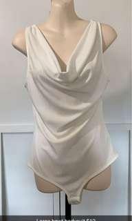 Large white bodysuit