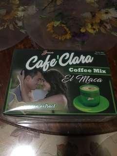 #march300 Jimms Cafe Clara coffee mix El Maca 12 sachet