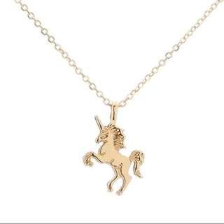 Unicorn necklace forever 21 f21 inspired h&m stradivarius necklace