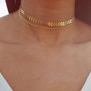 Choker necklace arrows f21 h&m necklace inspired