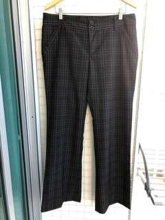 Mimi Chica Black Plaid Pants #MakeSpaceForLove