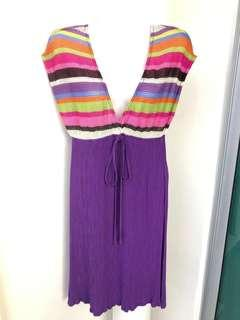 Shoreline Purple Striped Sun Dress #MakeSpaceForLove