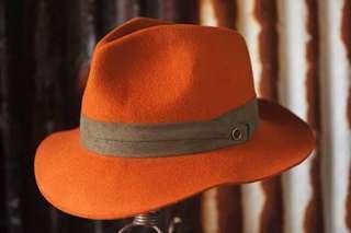 Fallen Broken Street Hat - Orange