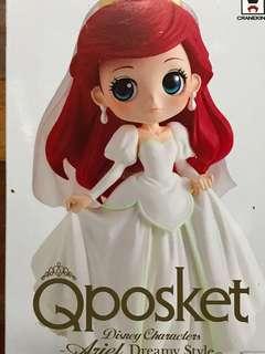 白色婚紗紅頭美人魚公主
