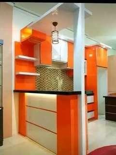 Meja bar kitchenset