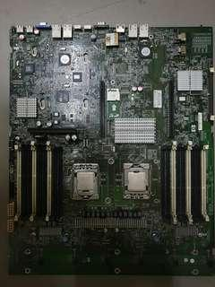 🚚 Motherboard. With 2 CPU