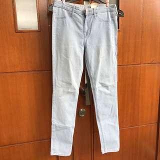 Light blue jeans hnm