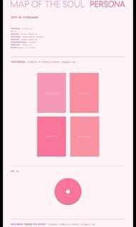 BTS map of the soul: persona preorder comeback album