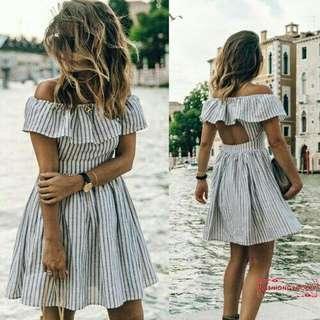 Summer Dress Backless