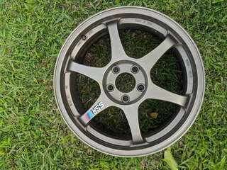 "SSR TYPE C 18"" RIM BRONZE (ORIGINAL)"