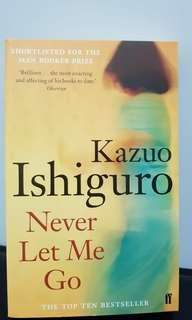 Never let me go by Kazuo Ishiguro book