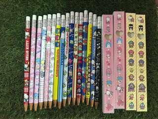 日版Sanrio原子筆扮鉛筆