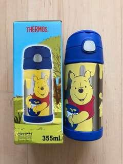 BN Thermos 355ML Vacuum Insulated Stainless Steel Straw bottle