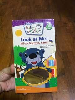 Baby Einstein mirror discovery cards