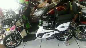 Sepeda Listrik Merek VOLTA Untuk Pemesanan Dan Pembayaran Produk Toko Kami Silahkan Chat Ke Whatsapp-O81916995299