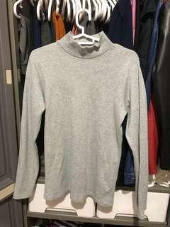 Gray Knitted Pullover