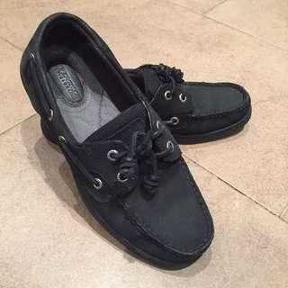 Sperry / Sperry's Black Comfortable Boat Loafers Shoes