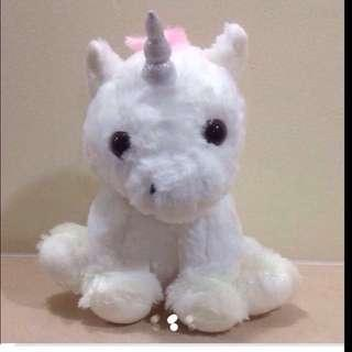 Fluffy Unicorn Standing Plushies from Korea ( Brand New & Wrapped)