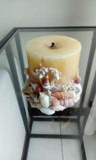 🚚 貝殼蠟燭台
