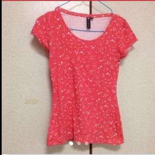 $29.95 Fashionable Cherry Red Starry Top From Sydney ( Brand New)