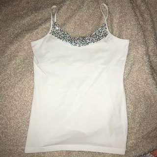 *REDUCED* Witchery White Sparkly Top