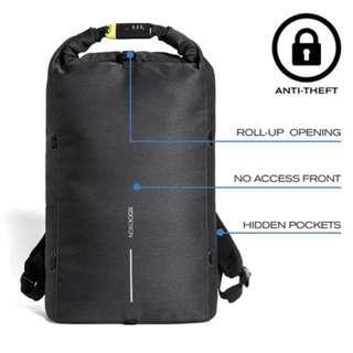 Bobby Urban Lite Anti-Theft backpack, Black