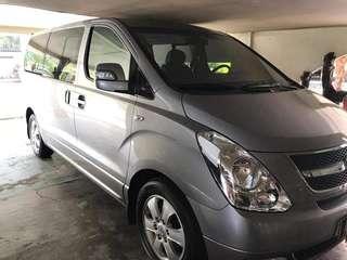 PROMO!!! Premium Van Rental with Driver (Grand Starex) ☀️