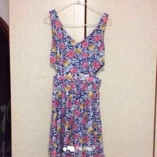 $59 Sexy Sweet Floral Flare Dress From Sydney (Brand New With Tag)