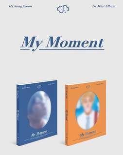 Ha Sungwoon 1st Album My Moment