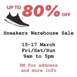 Sneakers Warehouse Sale