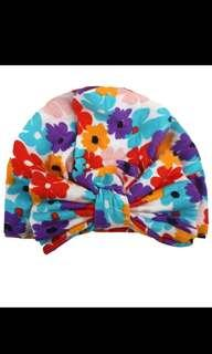 🚚 Flower Prints Baby Turban
