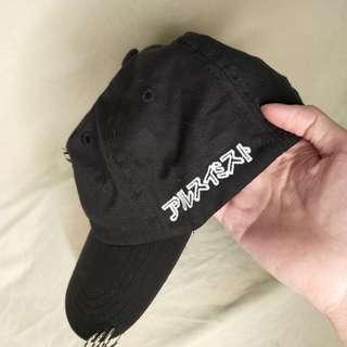 🚚 🔥買一送一🔥9.5成新,黑色個性棒球帽 鴨舌帽