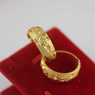 Vietnam Gold 24K Plated Earing