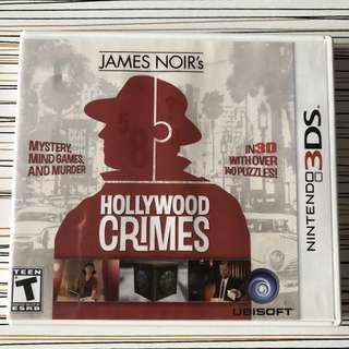 Nintendo 3DS : James Noir's Hollywood Crimes