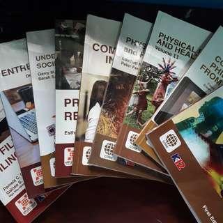 K-12 SHS Textbooks (Rex Publisher)