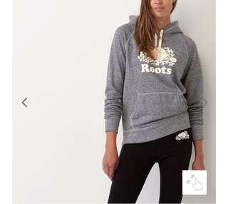 Roots salt and pepper sweater