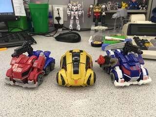 Transformers FOC set Optimus Prime, Bumblebee & Ultra Magnus