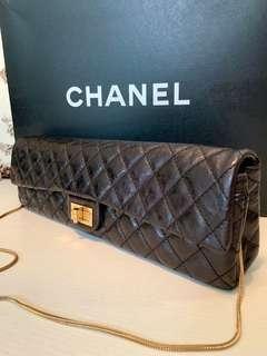 正品Chanel party bag 全皮手提上肩款
