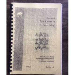 A Level Practice MCQ Chemistry by CS Toh