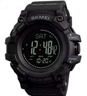 Skmei Digital Compass Barometer Altimeter Pedometer Water 💧 And Shock Resistant Multi Function Watch
