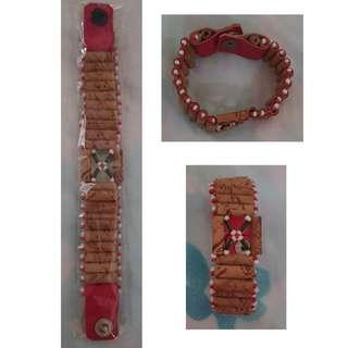 Girl Wooden Beads Bracelet