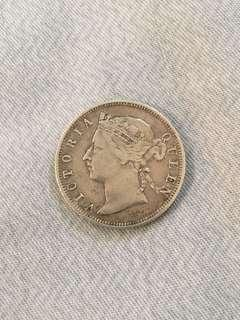 Queen Victoria 20 cents 1894