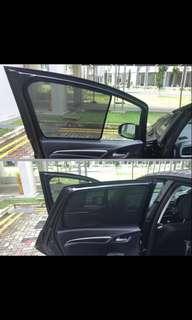 Toyota WISH sunshades AE10 2003-2009