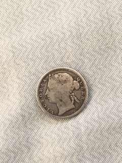 Queen Victoria 1898 10 cents