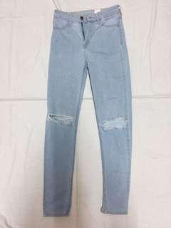 H&M Tattered Jeans