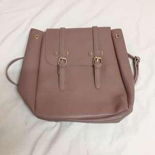 Nude Pink Backpack
